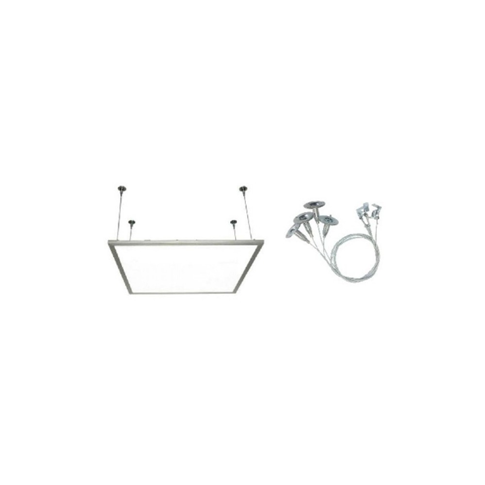 kit fixation panneau led carr 600 600 encastrable. Black Bedroom Furniture Sets. Home Design Ideas