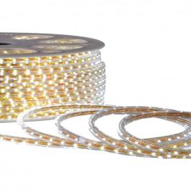 Promo Ruban LED 220V 5050 60led/m IP67 blanc naturel
