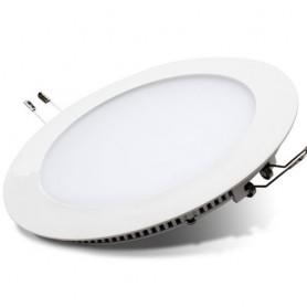 Panneau LED rond encastrable