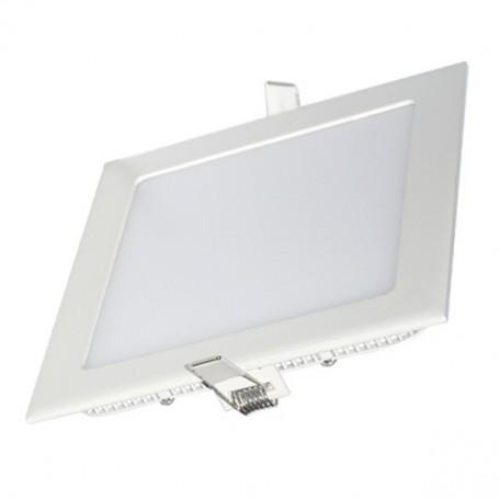 Panneau LED 86x86, 3W, carré encastrable