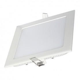 Panneau LED 225x225, 18W, carré encastrable