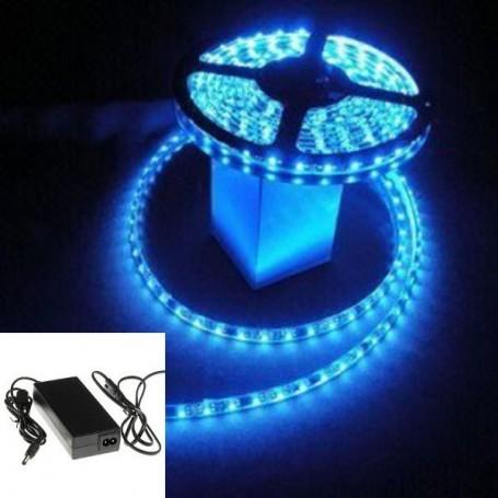 KIT ruban LED bleu 5050