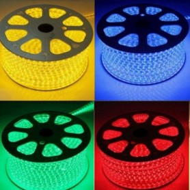 KIT Ruban LED 220V 5050 60led/m RGB