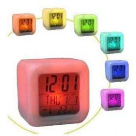 Réveil LED multi-couleurs