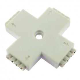 Connecteur multicouleur en X broche
