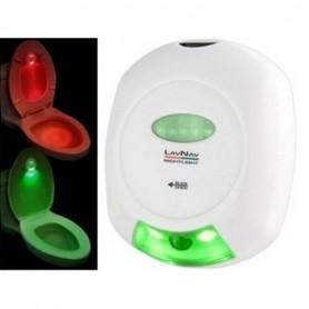 Lampe LED pour toilettes