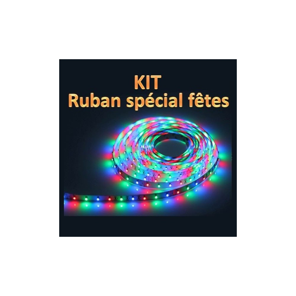Kit ruban led rgb 3528 inovatlantic - Ruban led rgb ...