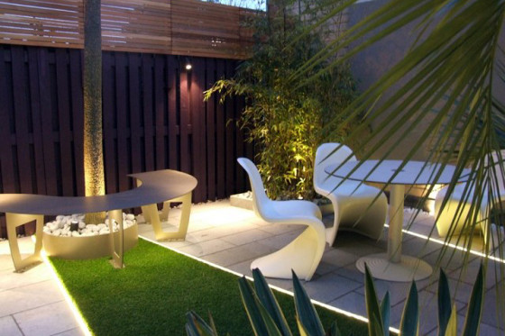 ruban LED 220V terrasse