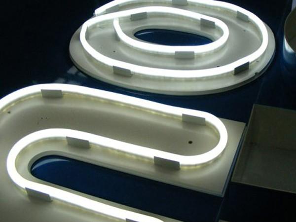 Le néon LED est très flexible