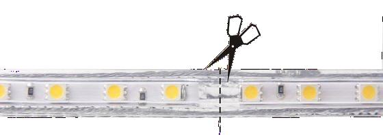 coupure ruban LED 220V
