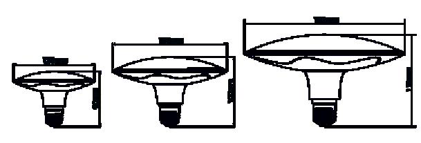 Dimensions lampe