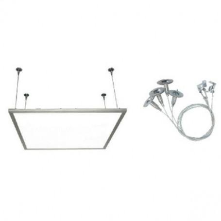 kit fixation panneau led carr 600x600 encastrable. Black Bedroom Furniture Sets. Home Design Ideas