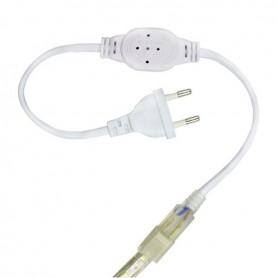 Connecteur électrique ruban LED 220V mono