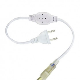 Connecteur électrique néon flexible LED 230V