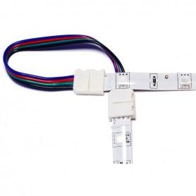 Connecteur multicouleur d'angle