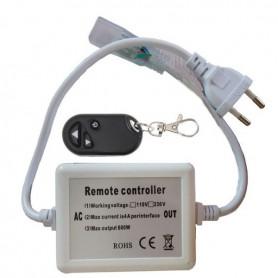 Connecteur Interrupteur variateur RF ruban/néon LED 230V mono