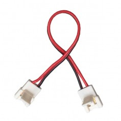Connecteur monocouleur d'angle
