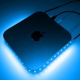 Ruban LED prise USB 3528 - Bleu