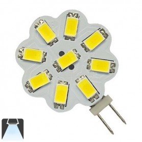 Ampoule LED G4 - 9 Leds 5630 - Blanc froid 6000K