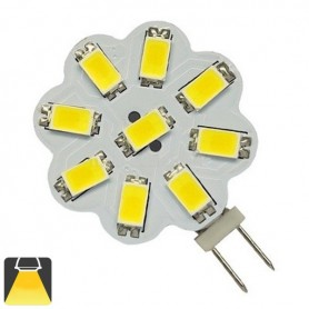 Ampoule LED G4 - 9 Leds 5630 - Blanc chaud 3000K