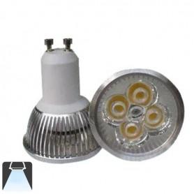 Spot LED 4W GU10 CW - Blanc froid 6000K