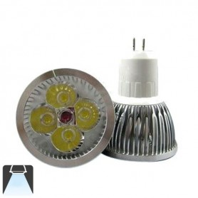 Spot LED 4W GU5.3 MR16 - Blanc froid 6000K