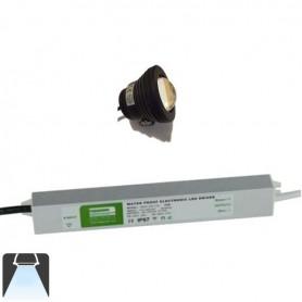 KIT 1 à 4 Projecteurs LED 10W étanche - Blanc froid