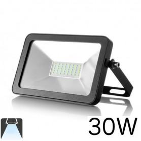 Projecteur LED plat LED noir 30W