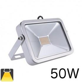 Projecteur LED plat LED blanc 50W
