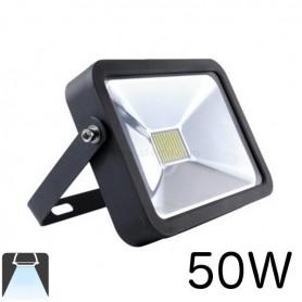 Projecteur LED plat 50W Boitier noir