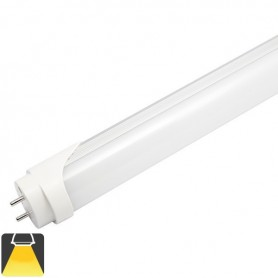 Tube LED T8 18W 120cm Opaque - Blanc chaud 3000K