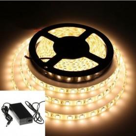 KIT ruban LED 5050 (1 à 5m) - Blanc chaud