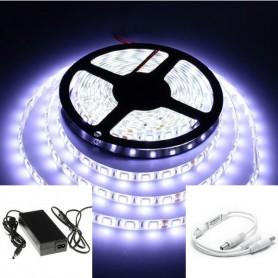 KIT ruban LED 12V 5050 (10 à 30m) - Blanc froid 6000K