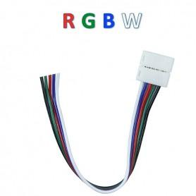 Connecteur ruban RGBW nu vers 5 fils