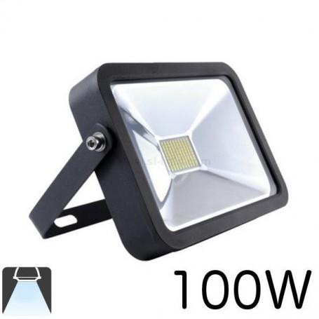 Projecteur LED plat LED noir 100W