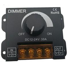 DIMMER 12/24V - variateur pour ruban monocouleur