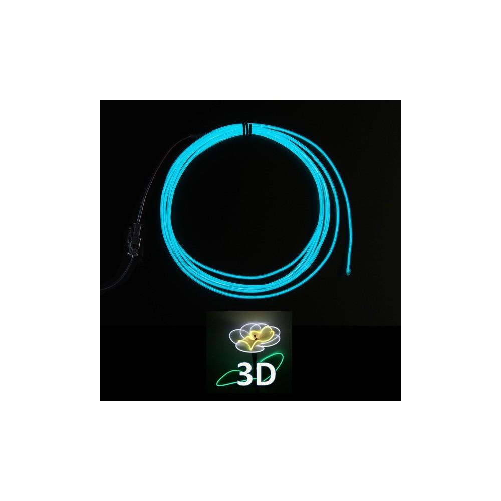 3c8806f7a75ee Fil lumineux 3D pliable - INOVATLANTIC