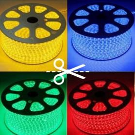 Ruban LED 230V 5050 60led/m RGB au mètre