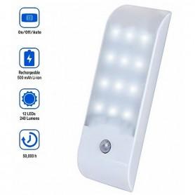 Mini Lampe LED rechargeable magnétique détecteur de mouvement