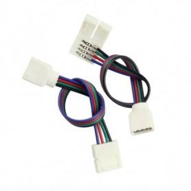 Connecteur ruban RGB nu vers prise RGB