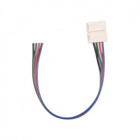 Connecteur ruban RGB nu vers 4 fils