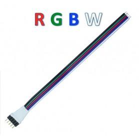 Connecteur prise RGBW mâle