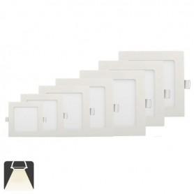 Panneau LED 300x300, 25W, carré encastrable - Blanc naturel 4500K