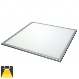 Panneaux LED 600x600, 36W, carré encastrable - Blanc chaud 3000K