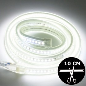 Ruban LED 230V 2835 sécable 10 cm - Blanc naturel 4000K