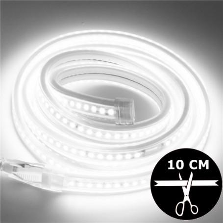 Ruban LED 230V 2835 sécable 10 cm