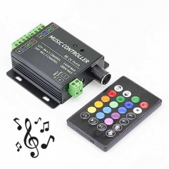 Contrôleur télécommande RGB musical