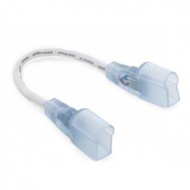 Connecteur d'angle cablé pour néon flexible LED 24V 10mm