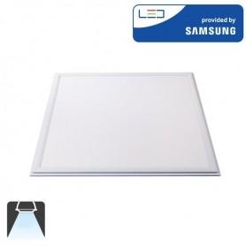 Panneau LED 600x600, 45W, carré encastrable - Blanc froid 6400K