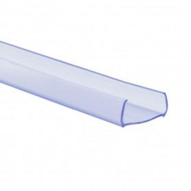 Profilé pvc transparent PLAT 1m